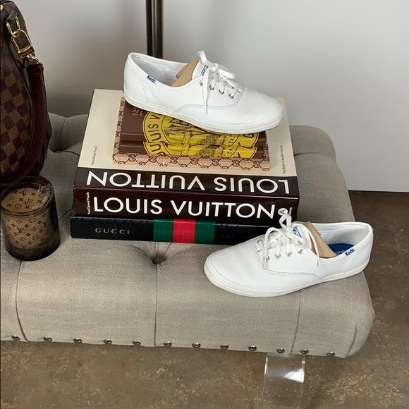031615d51c7 Keds Champion Originals Leather White Sneakers. Keds.  M 5cacd581152812a4239dd093. M 5cacd6d7264a55593040f56f.  M 5cacd75d2e7c2f3fc544316b